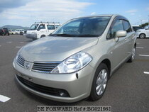 Used 2005 NISSAN TIIDA LATIO BG021981 for Sale for Sale