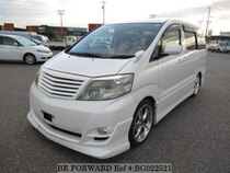 Used 2006 TOYOTA ALPHARD BG022521 for Sale for Sale