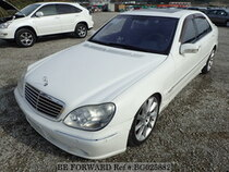Used 2002 MERCEDES-BENZ S-CLASS BG025882 for Sale for Sale