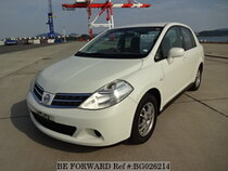 Used 2011 NISSAN TIIDA LATIO BG026214 for Sale for Sale