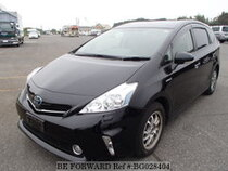 Used 2013 TOYOTA PRIUS ALPHA BG028404 for Sale for Sale