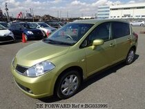Used 2007 NISSAN TIIDA BG033999 for Sale for Sale