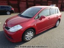 Used 2005 NISSAN TIIDA BG034151 for Sale for Sale