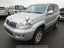 Used 2007 TOYOTA LAND CRUISER PRADO BG034537 for Sale for Sale