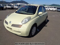 Used 2002 NISSAN MARCH BG035450 for Sale for Sale