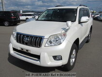 Used 2010 TOYOTA LAND CRUISER PRADO BG036288 for Sale for Sale