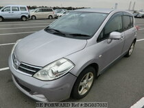 Used 2009 NISSAN TIIDA BG037033 for Sale for Sale