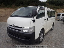 Used 2009 TOYOTA HIACE VAN BG040432 for Sale for Sale