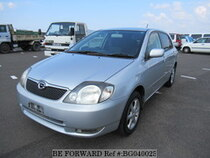 Used 2001 TOYOTA COROLLA RUNX BG040025 for Sale for Sale