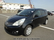 Used 2009 NISSAN NOTE BG043983 for Sale for Sale
