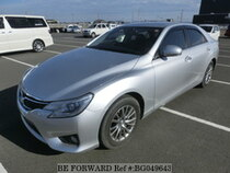 Used 2015 TOYOTA MARK X BG049643 for Sale for Sale