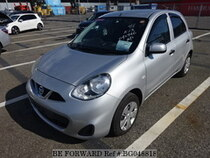 Used 2013 NISSAN MARCH BG048818 for Sale for Sale