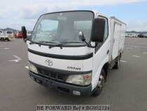 Used 2002 TOYOTA DYNA TRUCK BG052124 for Sale for Sale