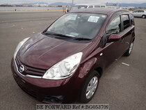 Used 2012 NISSAN NOTE BG053709 for Sale for Sale