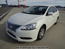 Used 2016 NISSAN SYLPHY BG053796 for Sale for Sale