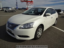 Used 2016 NISSAN SYLPHY BG053797 for Sale for Sale