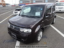 Used 2012 NISSAN CUBE BG055495 for Sale for Sale