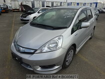 Used 2012 HONDA FIT SHUTTLE HYBRID BG056271 for Sale for Sale