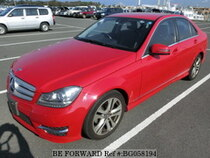 Used 2013 MERCEDES-BENZ C-CLASS BG058194 for Sale for Sale