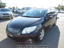 Used 2007 TOYOTA COROLLA FIELDER BG061360 for Sale for Sale
