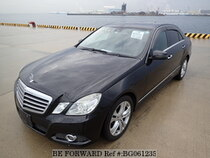 Used 2009 MERCEDES-BENZ E-CLASS BG061235 for Sale for Sale