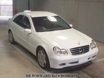 Used 2002 MERCEDES-BENZ C-CLASS BG063473 for Sale for Sale