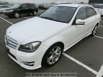 Used 2012 MERCEDES-BENZ C-CLASS BG063982 for Sale for Sale