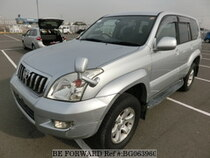 Used 2004 TOYOTA LAND CRUISER PRADO BG063960 for Sale for Sale