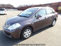 Used 2008 NISSAN TIIDA LATIO BG071073 for Sale for Sale