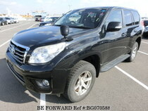 Used 2010 TOYOTA LAND CRUISER PRADO BG070588 for Sale for Sale