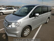 Used 2013 HONDA STEP WGN BG076518 for Sale for Sale