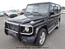Used 2001 MERCEDES-BENZ G-CLASS BG076254 for Sale for Sale