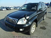 Used 2005 TOYOTA LAND CRUISER PRADO BG077788 for Sale for Sale