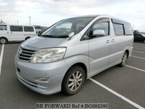Used 2008 TOYOTA ALPHARD BG082380 for Sale for Sale