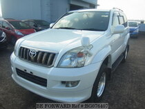 Used 2008 TOYOTA LAND CRUISER PRADO BG076407 for Sale for Sale