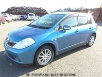 Used 2005 NISSAN TIIDA BG077890 for Sale for Sale