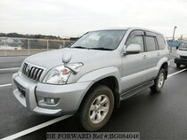 Used 2004 TOYOTA LAND CRUISER PRADO BG084046 for Sale for Sale