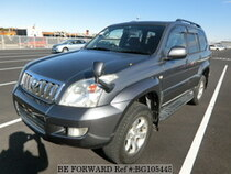 Used 2003 TOYOTA LAND CRUISER PRADO BG105445 for Sale for Sale