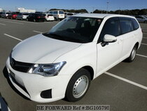 Used 2013 TOYOTA COROLLA FIELDER BG105795 for Sale for Sale