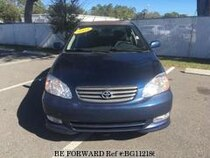 Used 2003 TOYOTA COROLLA BG112186 for Sale for Sale