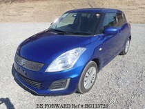 Used 2015 SUZUKI SWIFT BG113723 for Sale for Sale