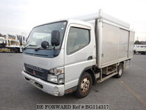 Used 2006 MITSUBISHI CANTER BG114317 for Sale for Sale