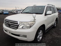 Used 2008 TOYOTA LAND CRUISER BG114293 for Sale for Sale