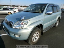 Used 2004 TOYOTA LAND CRUISER PRADO BG115501 for Sale for Sale