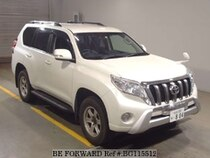 Used 2015 TOYOTA LAND CRUISER PRADO BG115512 for Sale for Sale