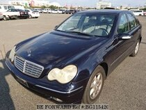 Used 2002 MERCEDES-BENZ C-CLASS BG115420 for Sale for Sale