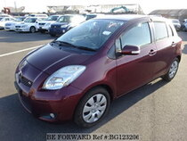 Used 2008 TOYOTA VITZ BG123206 for Sale for Sale