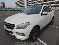 Used 2014 MERCEDES-BENZ M-CLASS BG124455 for Sale for Sale