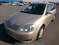 Used 2004 TOYOTA ALLEX BG124502 for Sale for Sale