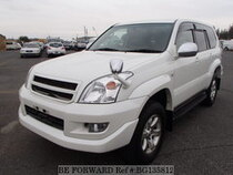 Used 2002 TOYOTA LAND CRUISER PRADO BG135812 for Sale for Sale